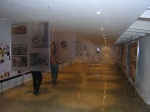 The exhibition hall at the //Kwa ttu Center.